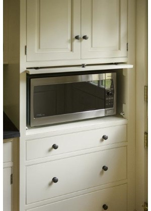 microwave kitchen
